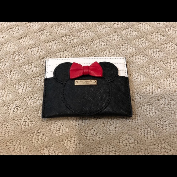 kate spade Handbags - Kate Spade - card holder (Minnie Mouse)